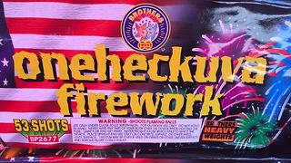 Fireworks stand open in Missouri - Video