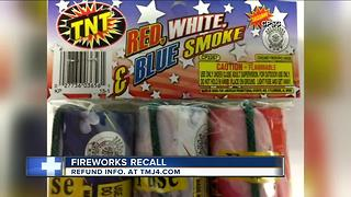 Fireworks sold in Wisconsin recalled - Video