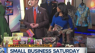 Celebrating Small Business Saturday in Wyandotte - Video