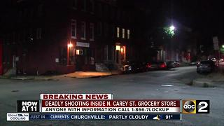 Man shot inside convenience store has died - Video