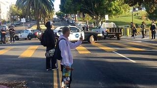 San Francisco Skateboarder Flips Over Patrol Car Following Collision With Cop - Video