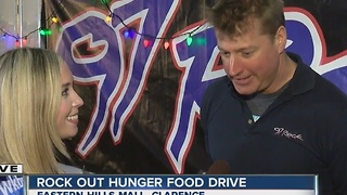 Rock Out Hunger collects food for Food Bank of WNY - Video