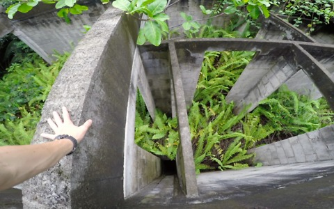 Parkour athlete discovers abandoned resort in Caribbean jungle