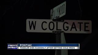Toddler dies suddenly after getting cold medicine - Video