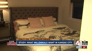 Study: Millennials value basics in apartments - Video
