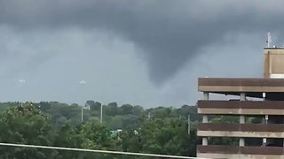 Tornado Touches Down in Birmingham, Alabama - Video