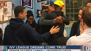 Harlem high school student makes Ivy League dreams come true - Video