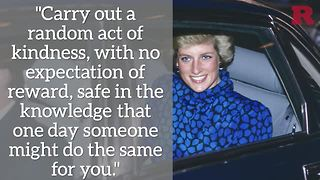 5 Princess Diana quotes to live by | Rare People - Video