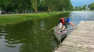 Canoe Trip Fail - Video