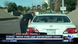 Statewide 'Move Over' enforcement happening Tuesday in Colorado - Video
