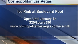 Ice Rink at the Cosmopolitan Boulevard Pool - Video