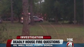 State Fire Marshal investigates deadly house fire in Charlotte County