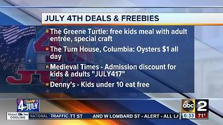 Enjoy these July 4th deals and freebies - Video