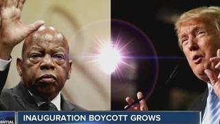 Inauguration boycott grows - Video