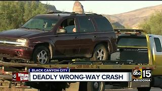 Deadly wrong-way shuts down I-17 for hours - Video