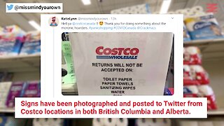 Costco Stores In Canada Won't Let People Return Any Leftover Toilet Paper