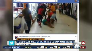 Mall brawl caught on video in Fort Myers - Video