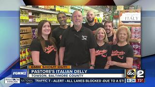 Good morning from Pastore's Italian Delly - Video