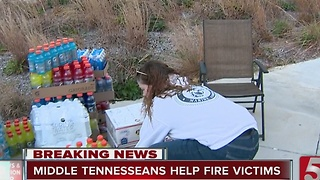 How to Help Victims of East Tennessee Wildfires - Video