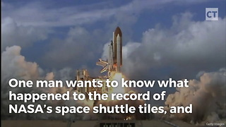 Man Notices Eerie Disappearance Of Nasa Document - Video