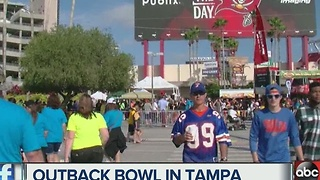Outback Bowl in Tampa - Video