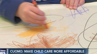 Cuomo: make child care more affordable - Video