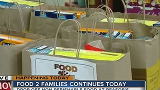 FOOD DRIVE: Donate at Reasor's through Dec. 13 - Video