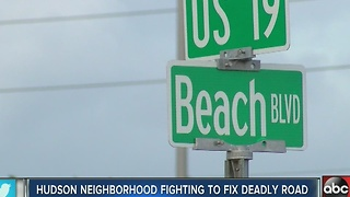 Hudson neighborhood fighting to fix deadly road - Video