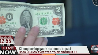 Championship game economic impact - Video