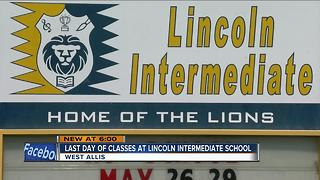 Final day of school at Lincoln Intermediate - Video