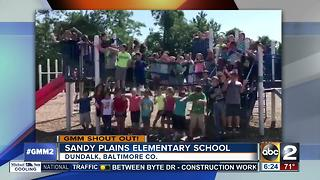 Sandy Plains Elementary School students give a Good Morning Maryland shout-out - Video