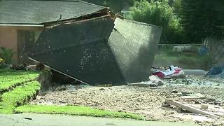 House collapses into Land O' Lakes sinkhole
