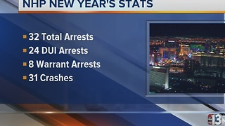 Nevada Highway Patrol releases New Year's stats - Video