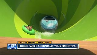 Theme park discounts at your fingertips