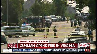 Virginia Shooting of Congress Baseball Practice - Video