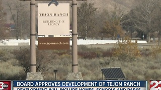 Board of Supervisors approve Tejon Ranch project - Video