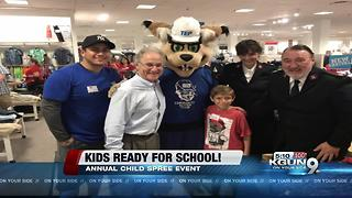 Annual Child Spree event provides clothing and school supplies - Video