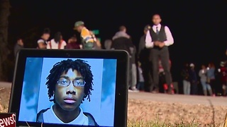 Vigil Held For Teen Killed Week Before Christmas