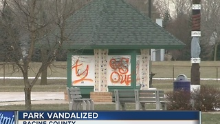 Vandals target Racine County park - Video