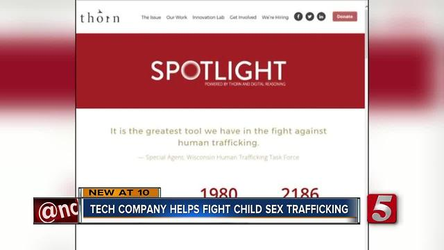 Agencies Use Software To Fight Human Trafficking