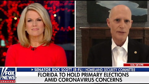 Sen. Rick Scott on coronavirus: 'The federal government cannot solve every problem'