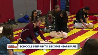 """Metro Detroit schools step up efforts to keep students """"heart safe"""""""