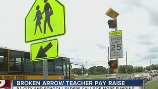Broken Arrow Teachers Pay Raise
