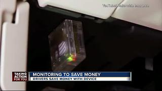 Tracking device saves drivers car insurance money - Video