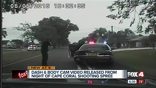 Dash camera and body camera video released in deadly Cape Coral shooting spree