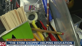 The STEM Shoppe helps Tulsa instructors - Video