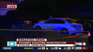 Deputies investigate possible shooting in Lehigh Acres overnight - Video