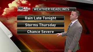 Dustin's Forecast 6-21 - Video
