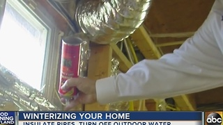 How to winterize your home this season - Video