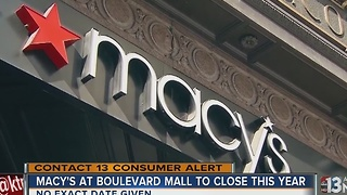 Macy's at Boulevard Mall will close this year